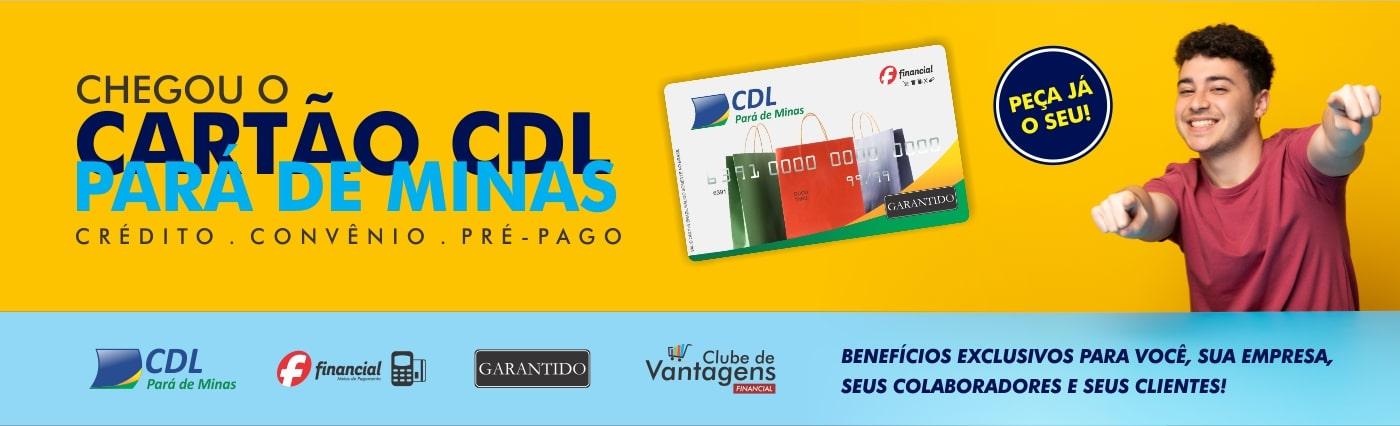 CARTÃO CDL GARANTIDO