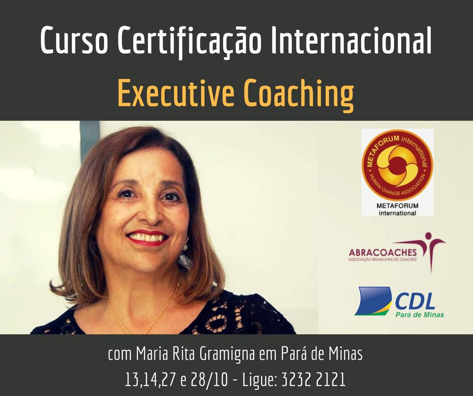 CURSO DE COACHING EXECUTIVO