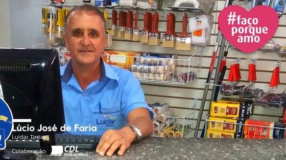 #façoporqueamo- LÚCIO JOSÉ DE FARIA