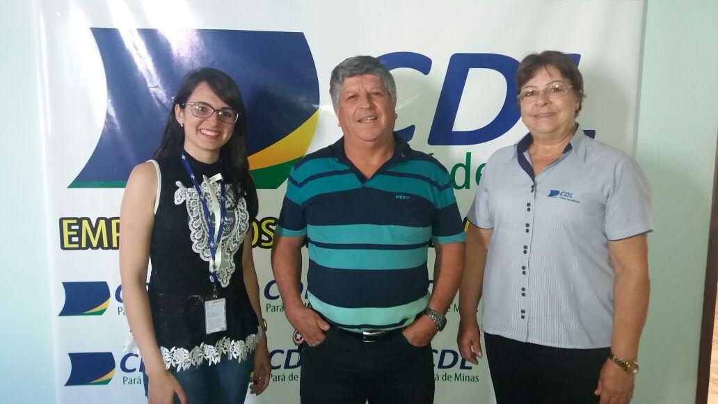 CDL PARÁ DE MINAS BUSCA PARCERIA COM O SEBRAE