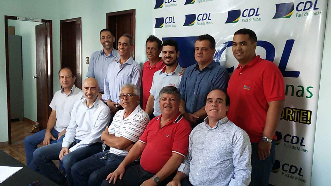 CDL RECEBE DIRETORIA DA ASCIPAM PARA DISCUTIREM PRODUTOS E SERVIÇOS PARA O ASSOCIADO