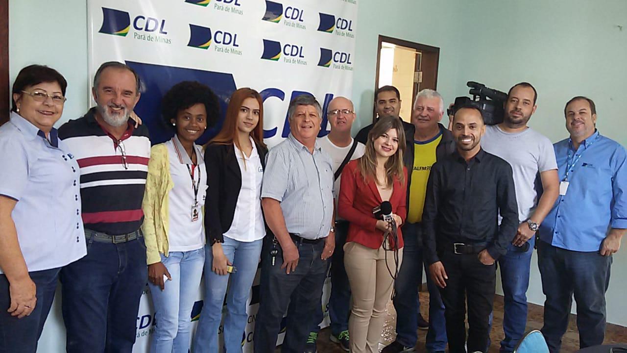 CDL PARÁ DE MINAS REALIZA COLETIVA PARA ABORDAR O TEMA DA REFORMA TRIBUTÁRIA.