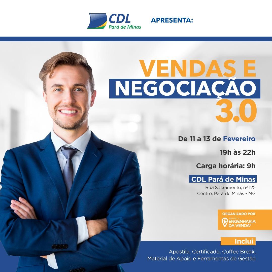 CURSOS CDL PARÁ DE MINAS- 2019