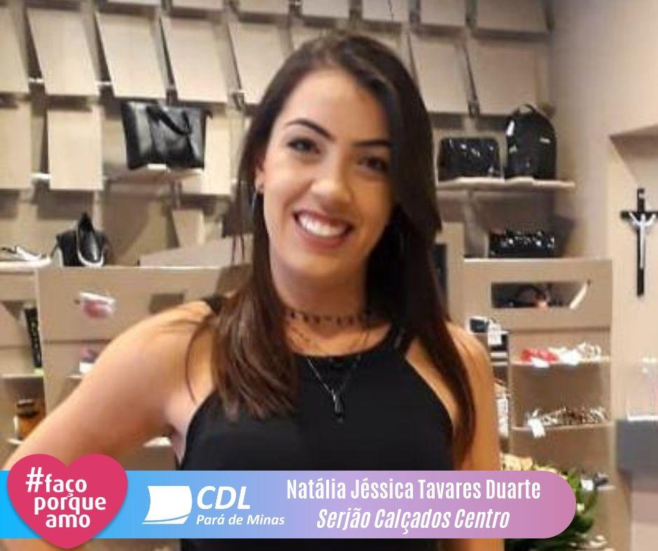 #FAÇOPORQUEAMO - Natália Jéssica Tavares Duarte