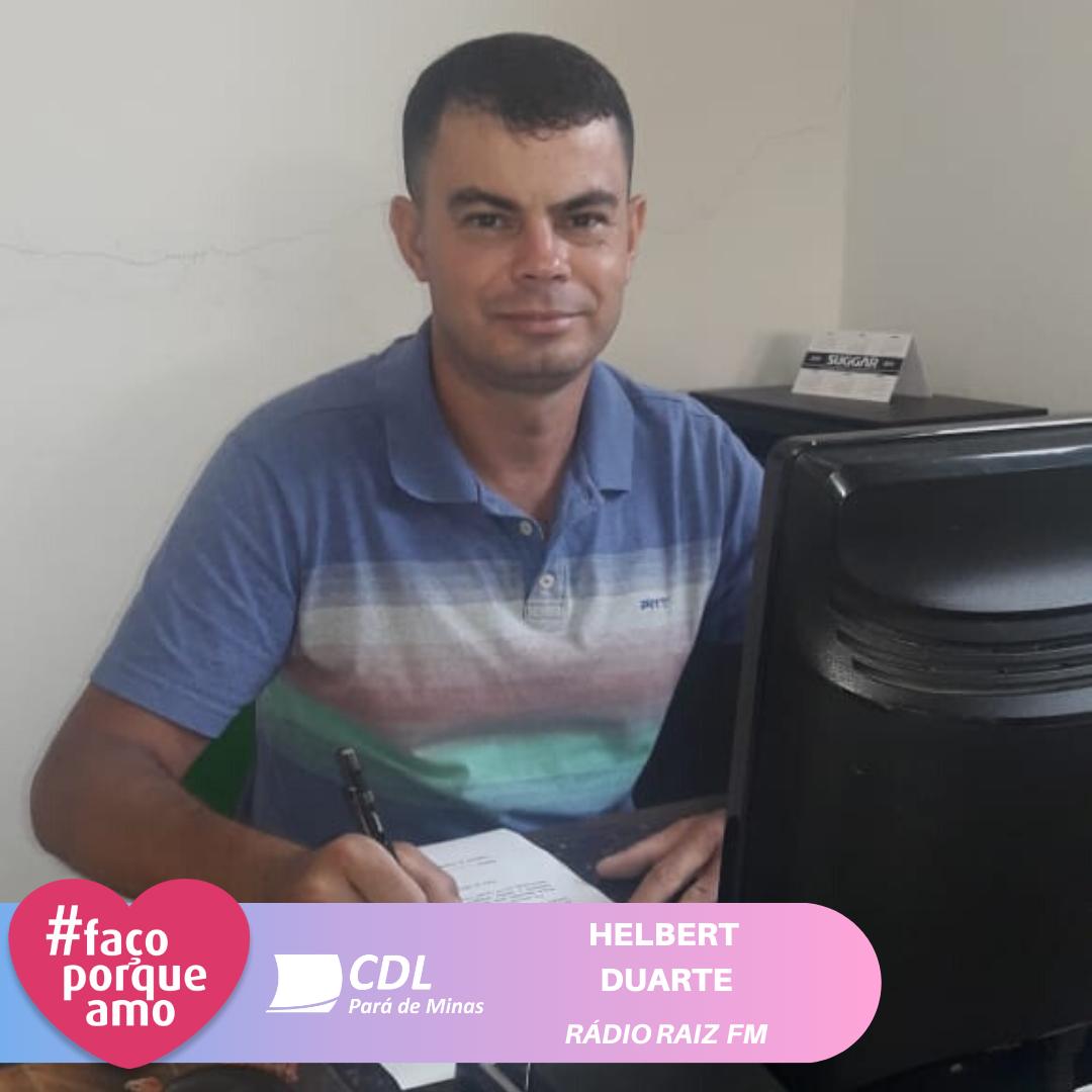 #FAÇOPORQUEAMO - HELBERT DUARTE