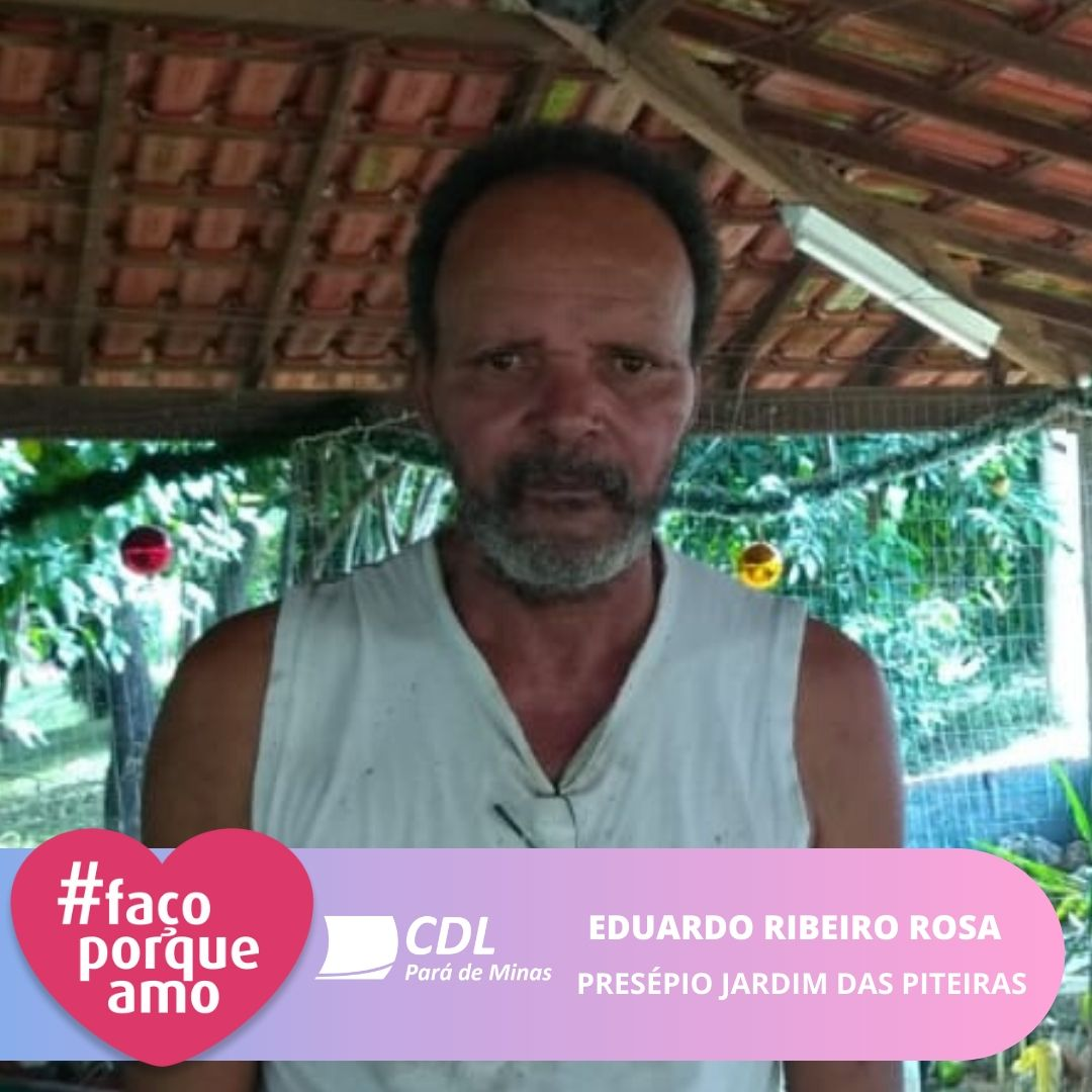 #FAÇOPORQUEAMO - EDUARDO RIBEIRO ROSA