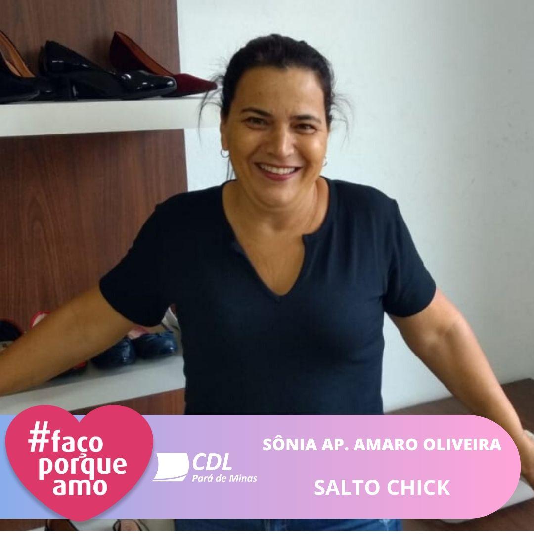 #FAÇOPORQUEAMO - SÔNIA APARECIDA AMARO OLIVEIRA