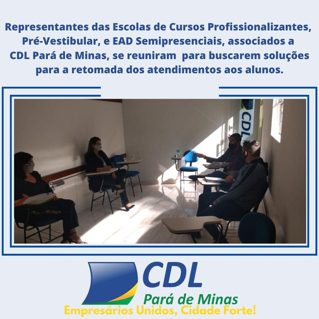 Associados CDL Pará de Minas se reúnem para buscarem soluções
