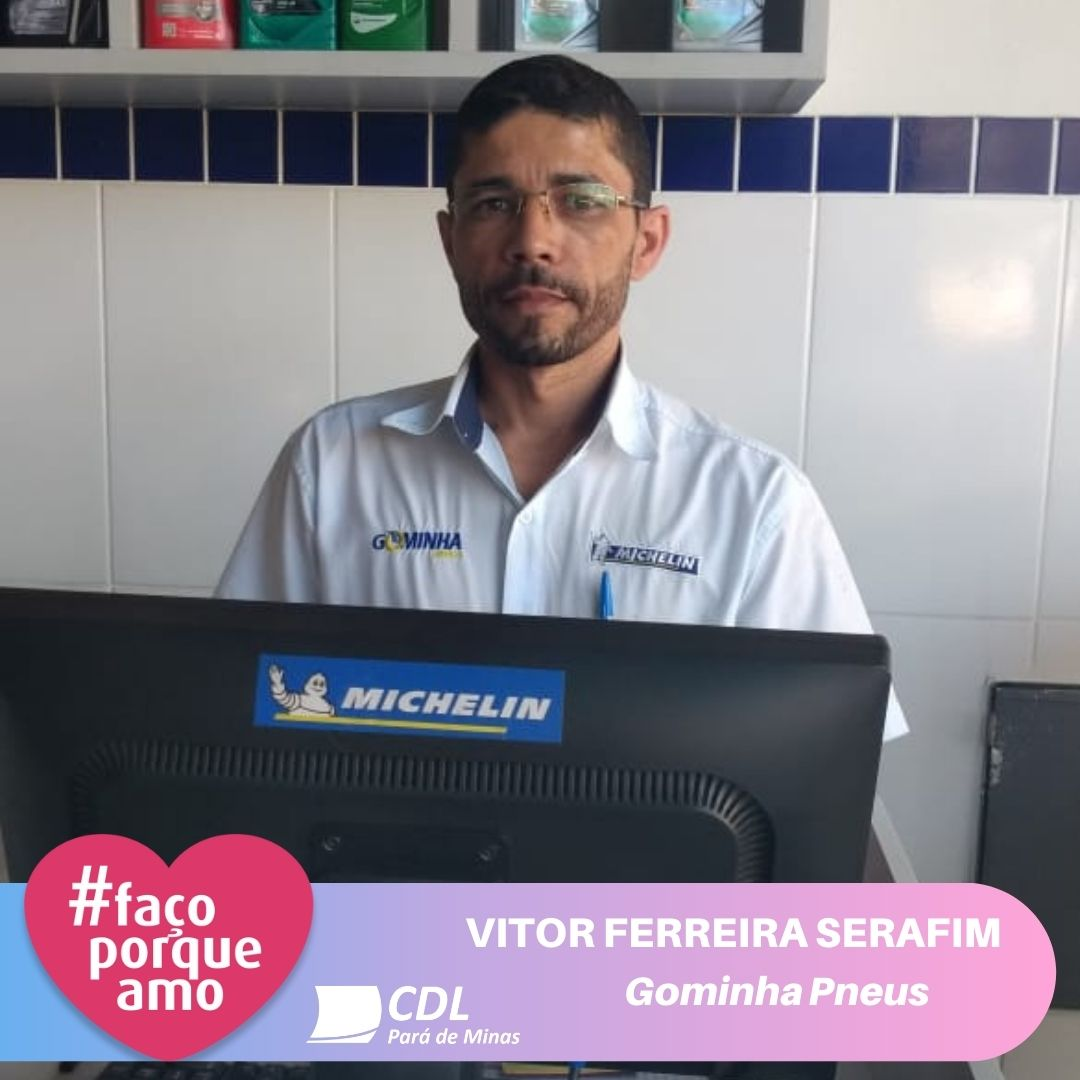 #FAÇOPORQUEAMO – VITOR FERREIRA SERAFIM